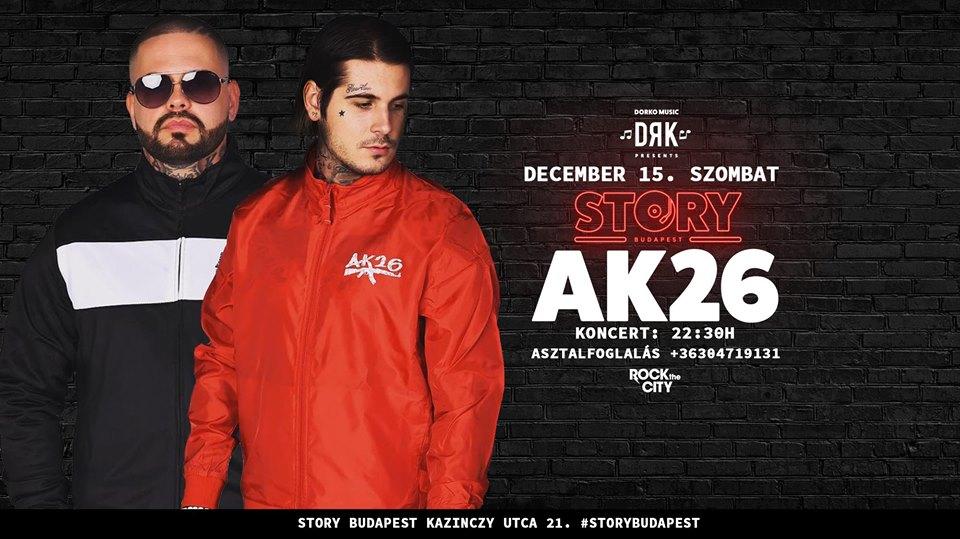 AK26 Budapest fellépés