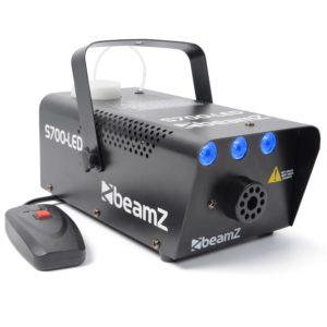 Beamz S700LED ködgép, 700W, 3x1W LED jég effekt, távirányító, tartó