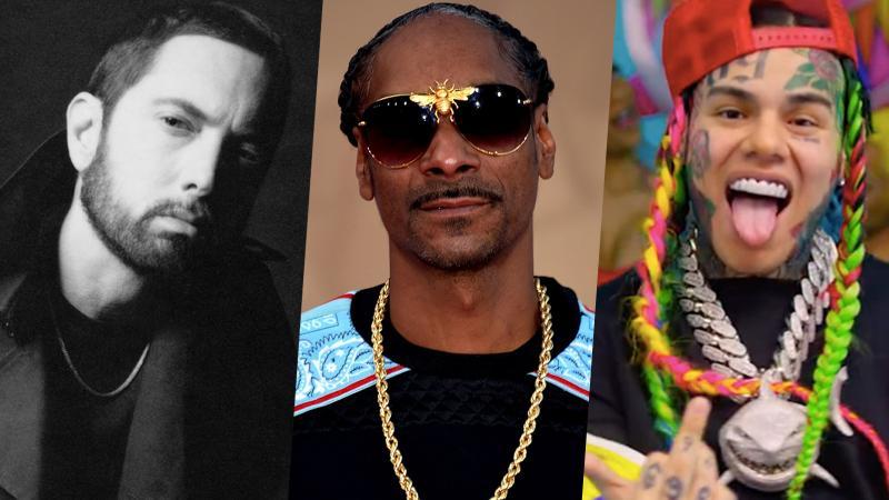 Eminem - Snoop - 6ix9ine
