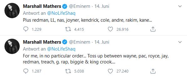 Eminem Kedvenc Rapperei