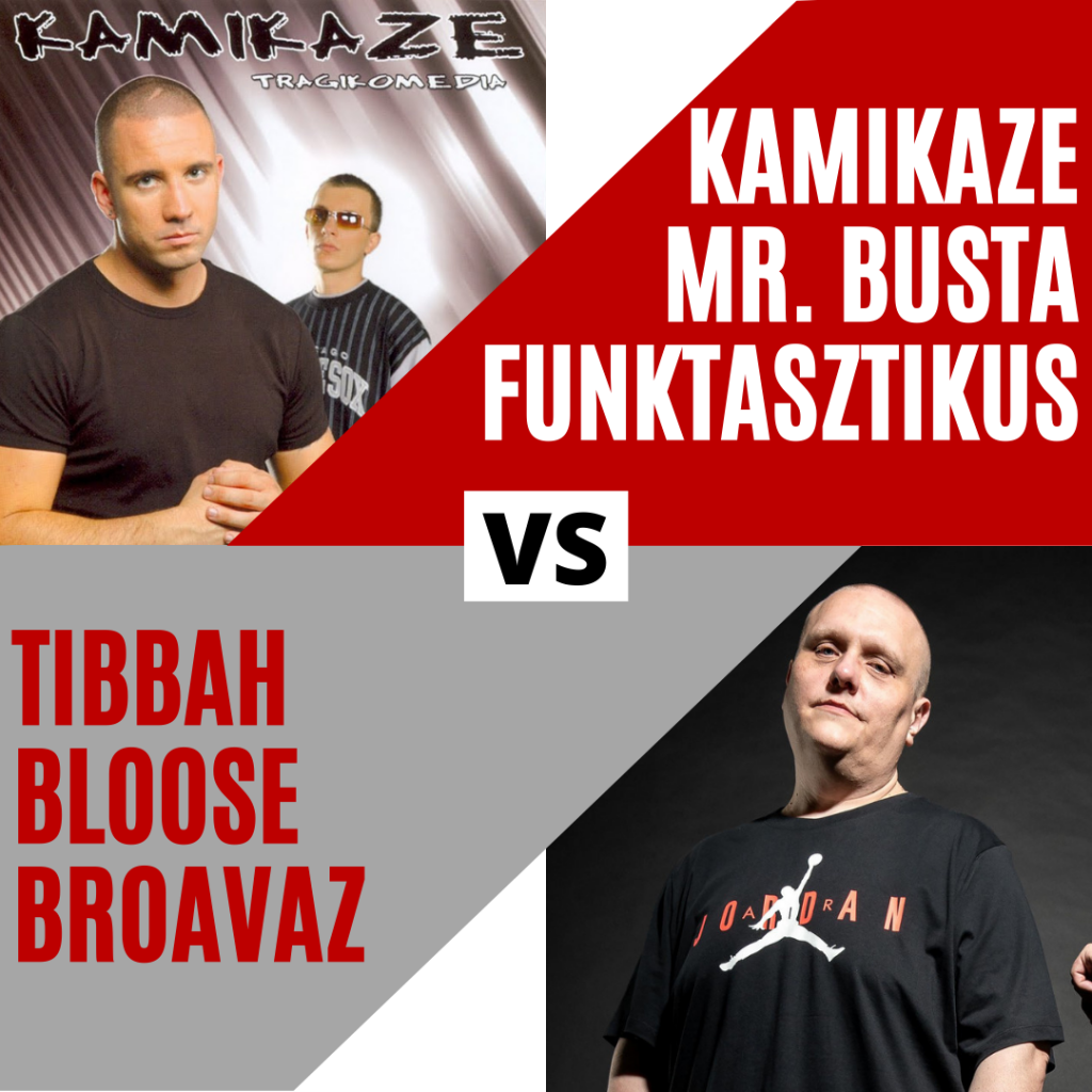 Kamikaze Busta Funktasztikus vs. Bloose Broavaz Beef